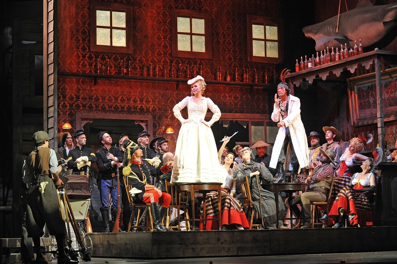 La Boheme, Staatsoper Hamburg, lighting by Davy Cunningham