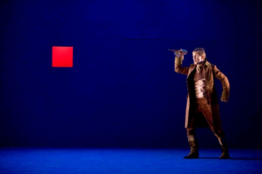Flavio, English Touring Opera, directed by James Conway, design Joanna Parker