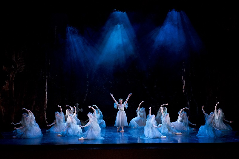 Giselle, Northern Ballet, lighting Alastair West