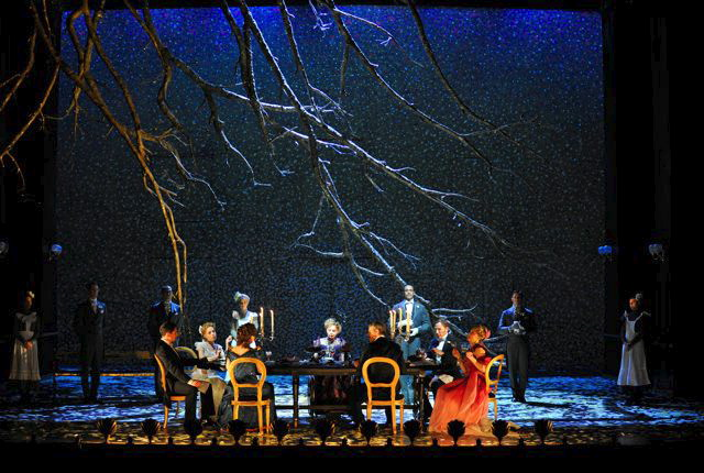 A Little Night Music By Stephen Sondheim, Lighting By Jenny Cane, Théâtre Du Châtelet, 2010