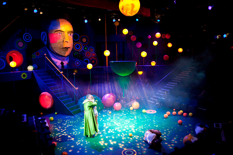A Midsummer Night's Dream By Shakespeare, Lighting By Wayne Dowdeswell, The Octagon Theatre, Bolton, 2010