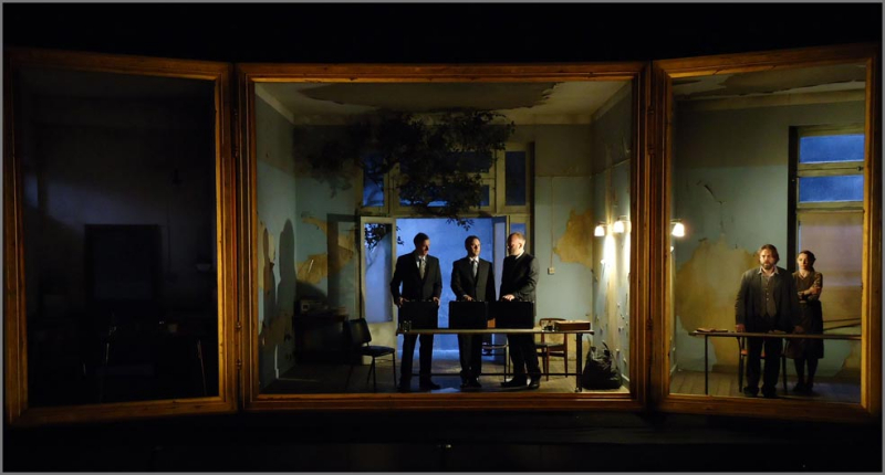 Clemency By James MacMillan, Directed By Katie Mitchell, Designed By Alex Eales At The Royal Opera House, 2011