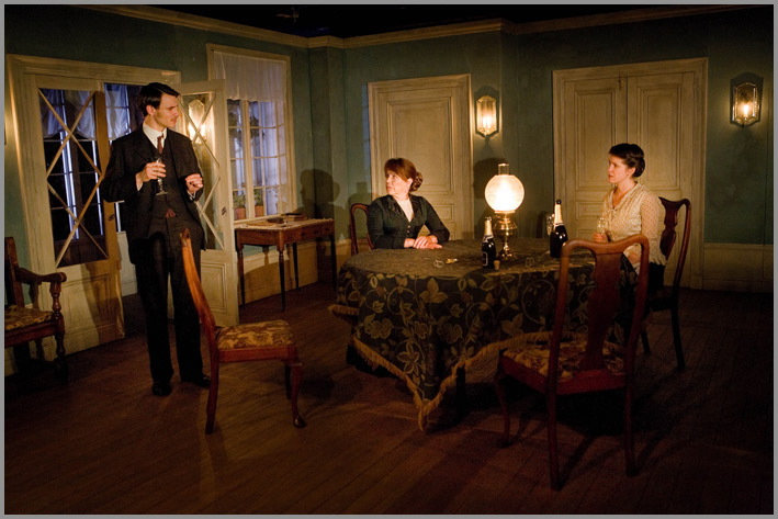 Ghosts By Ibsen, Directed By Bijan Sheibani, Designed By Alex Eales, Arcola Theatre, 2009