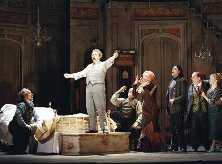 Gianni Schicchi, Choreography By Leah Hausman, Glyndebourne Festival Opera, 2004