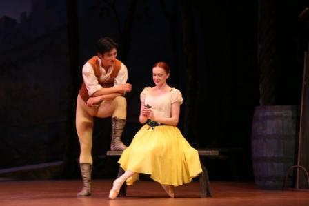 Giselle, Johan Kobborg & Ethan Stiefel, Costume Designs By Natalia Stewart, Royal New Zealand Ballet, 2012 Featuring Qi Huan And Gillian Murphy, Photo Ev