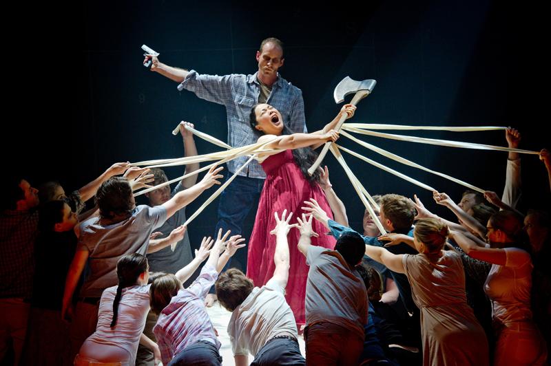 Idomeneo - Mozart - Grange Park - 2 June 2012 Director/Designer - Charles Edwards