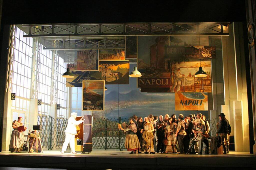 Il Turco In Italia, Directed By Lee Blakeley, Lighting By Emma Chapman, Angers Nantes Opera, 2013(3)