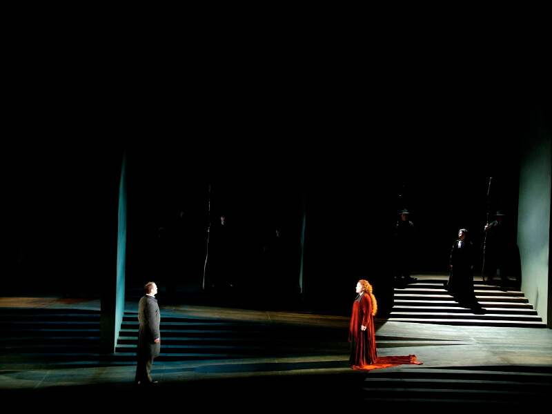 Lucia Di Lammermoor By Donizetti, Lighting By Wayne Dowdeswell, Scottish Opera, 2007