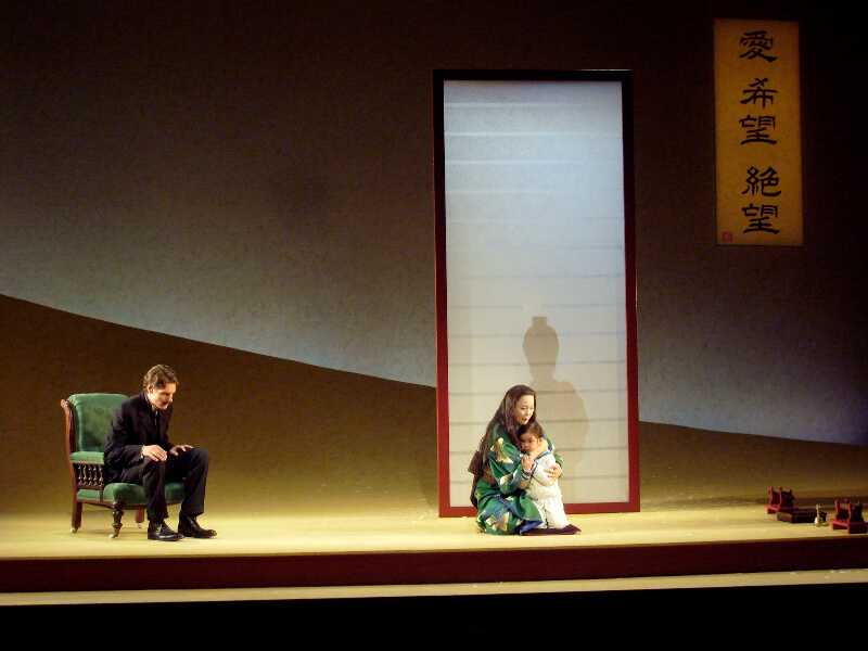 Madama Butterfly By Puccini, Lighting By Wayne Dowdeswell, Grange Park Opera, 2012