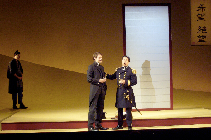 Madama Butterfly, Lighting By Wayne Dowdeswell, Grange Park Opera, 2012