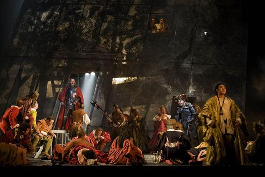 Rigoletto By Verdi, Choreography By Leah Hausman, Royal Opera House, 2001