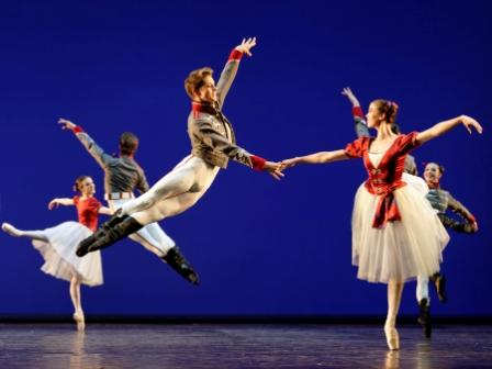 Salute, Choreographer Johan Kobborg, Costumes Designed By Natalia Stewart, Royal Danish Ballet, 2011