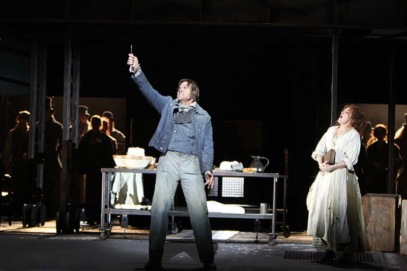 Sweeney Todd By Stephen Sondheim, Designed By Tanya McCallin, Théâtre Du Châtelet, 2011 Photo By Roy Tan