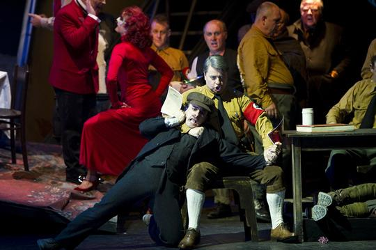 The Damnation Of Faust By Berlioz, Directed By Terry Gilliam, Choreography By Leah Hausman, English National Opera, 2011