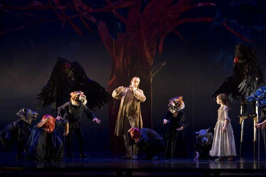 The Magic Flute By Mozart, Choreography By Leah Hausman, Royal Opera House, 2008