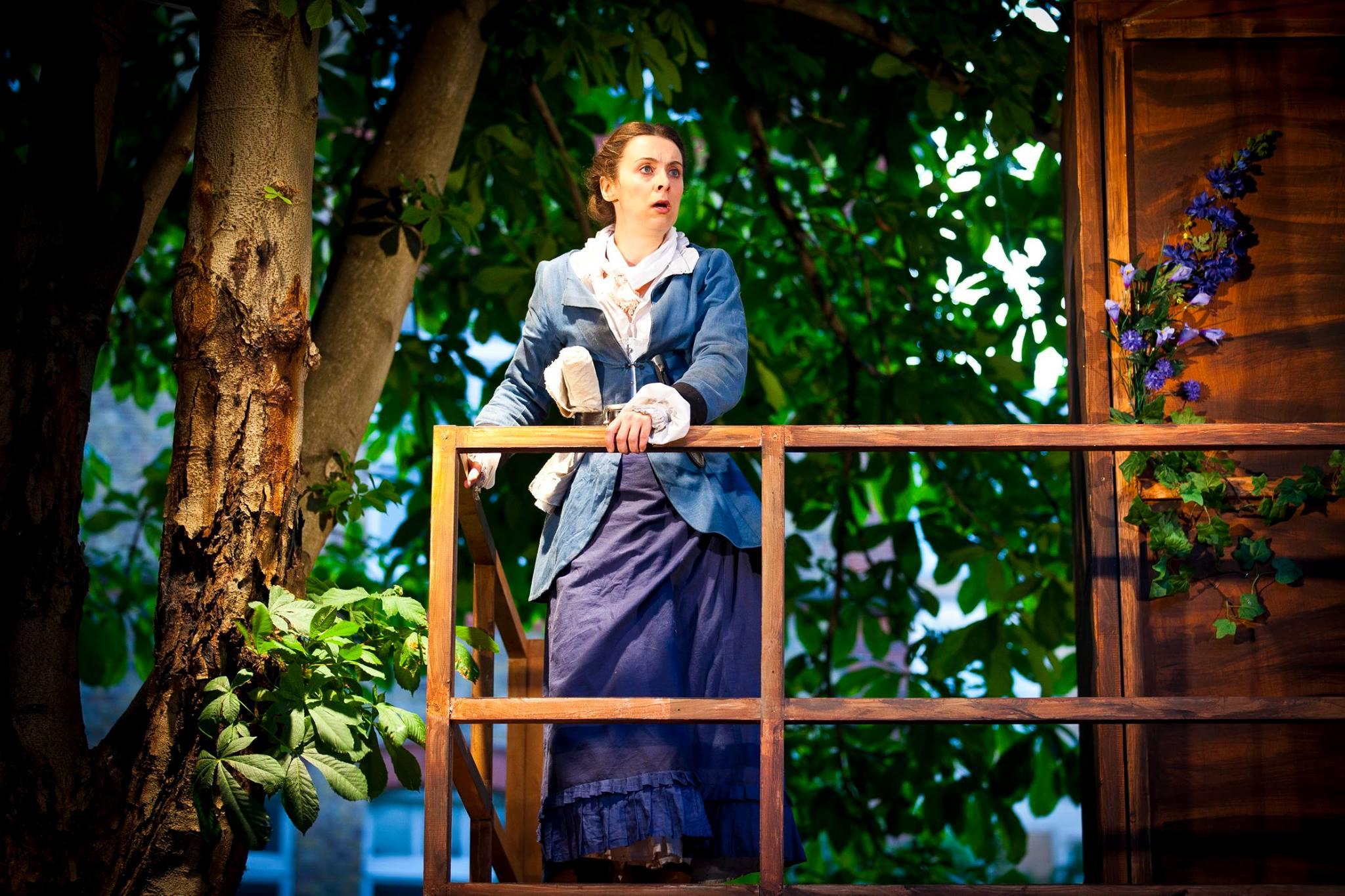 Treasure Island Set By Valentina Turtur, Iris Theatre 2016, Photograph By Hannah Barton