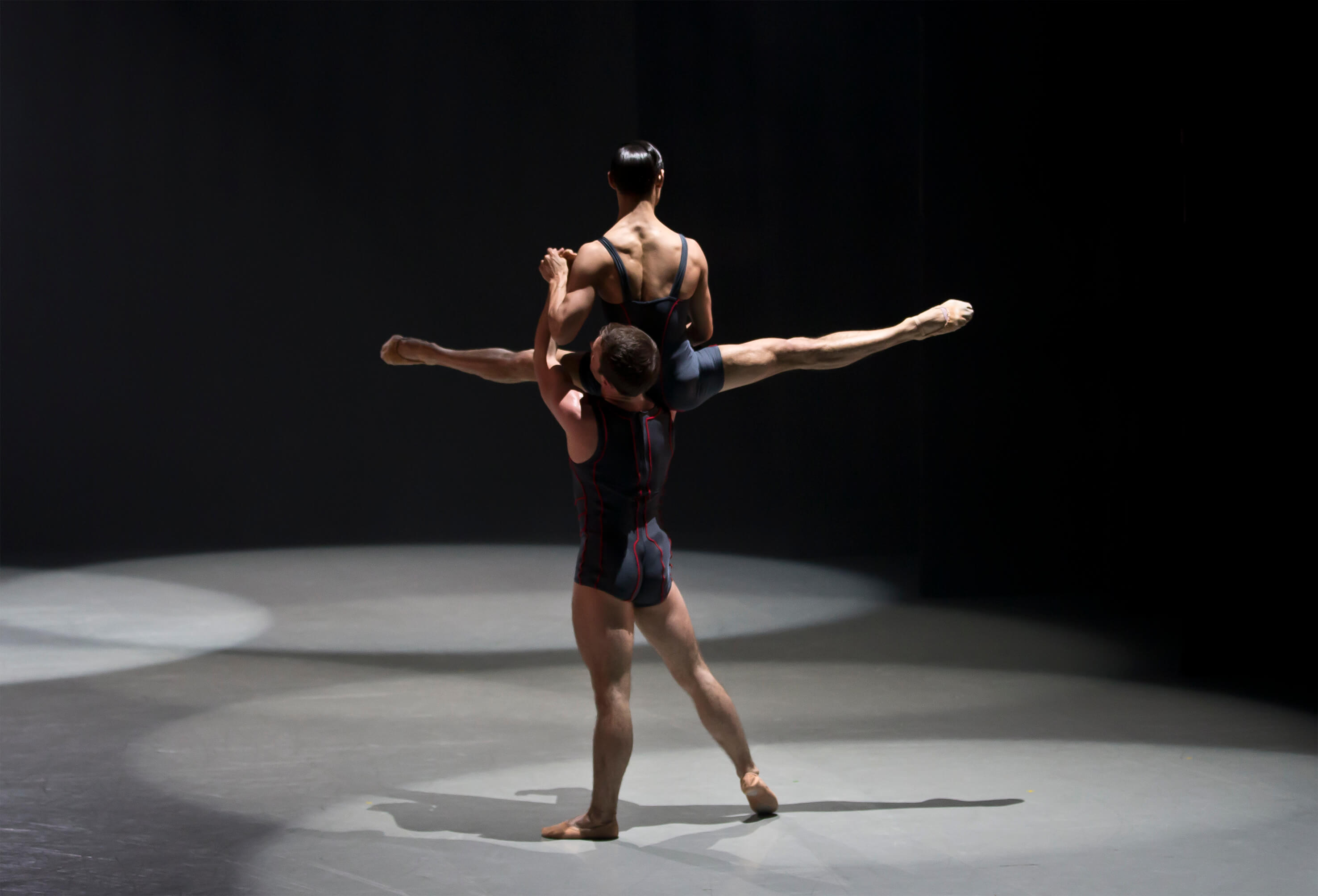 Northern Ballet Dancers Ben Mitchell And Kevin Poeung In Luminous Juncture. Photo E Kauldhar