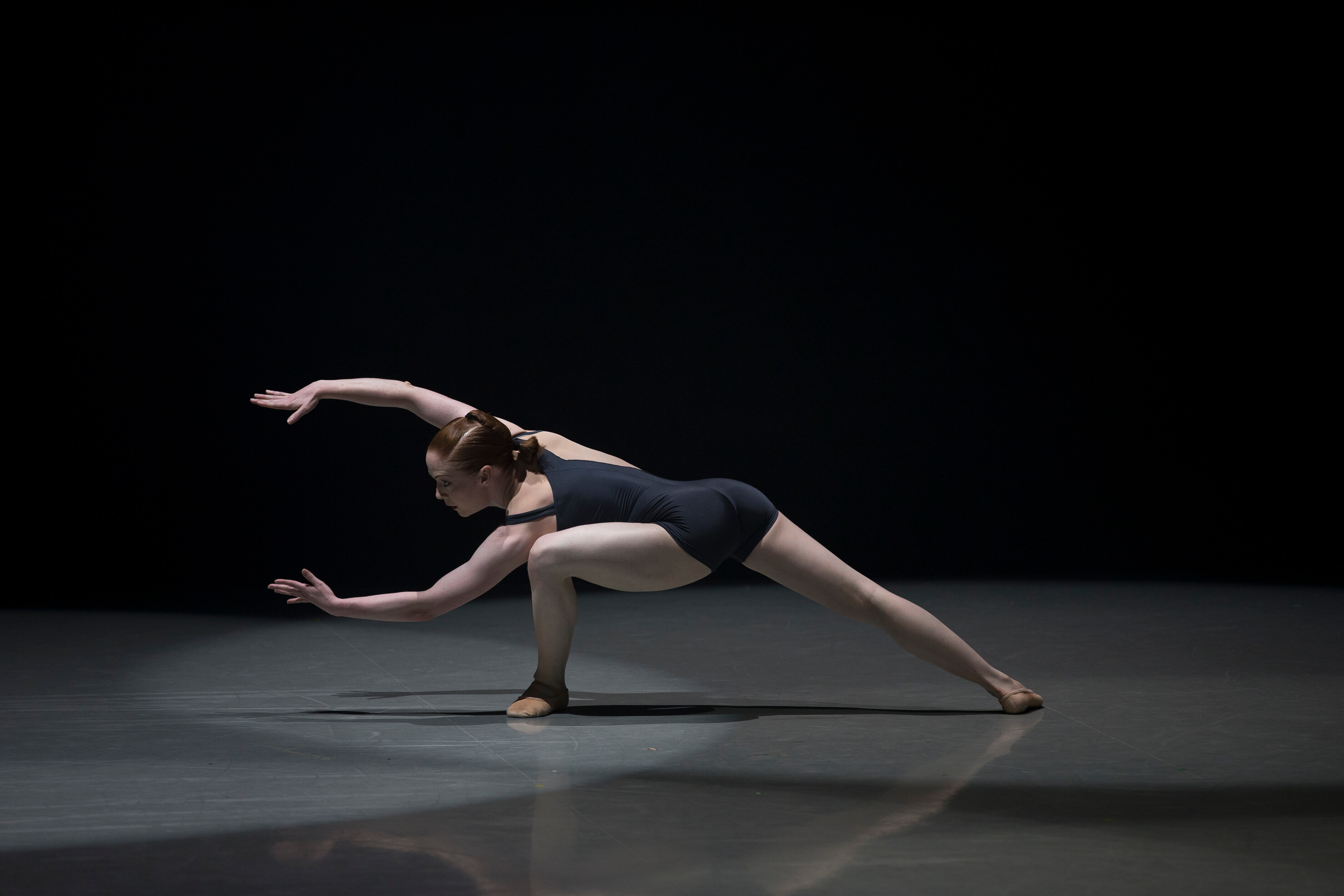 Northern Ballet Dancer Victoria Sibson In Luminous Juncture. Photo E Kauldhar