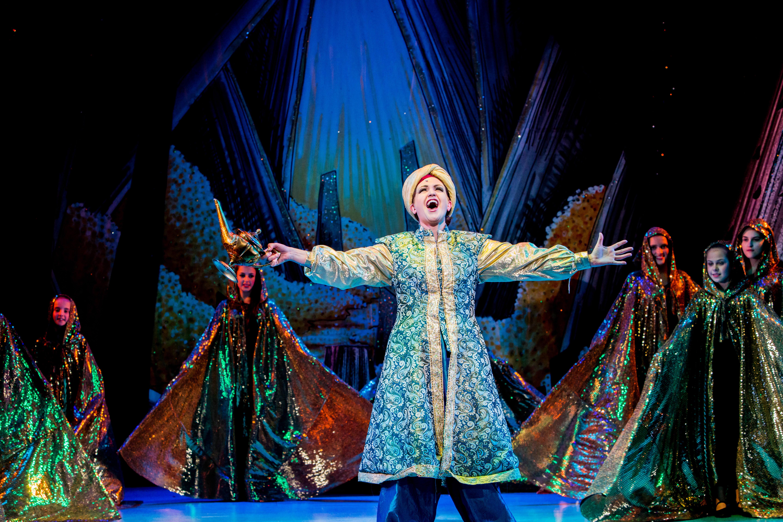 Aladdin At Cast, Doncaster 2014 ©Alex & Janet Durasow