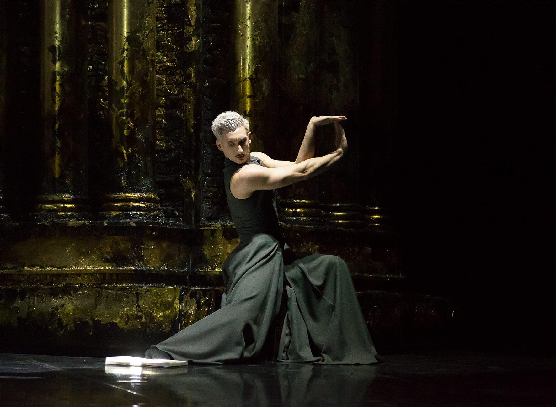 Giuliano Contadini As Casanova In Casanova. Photo Emma Kauldhar.