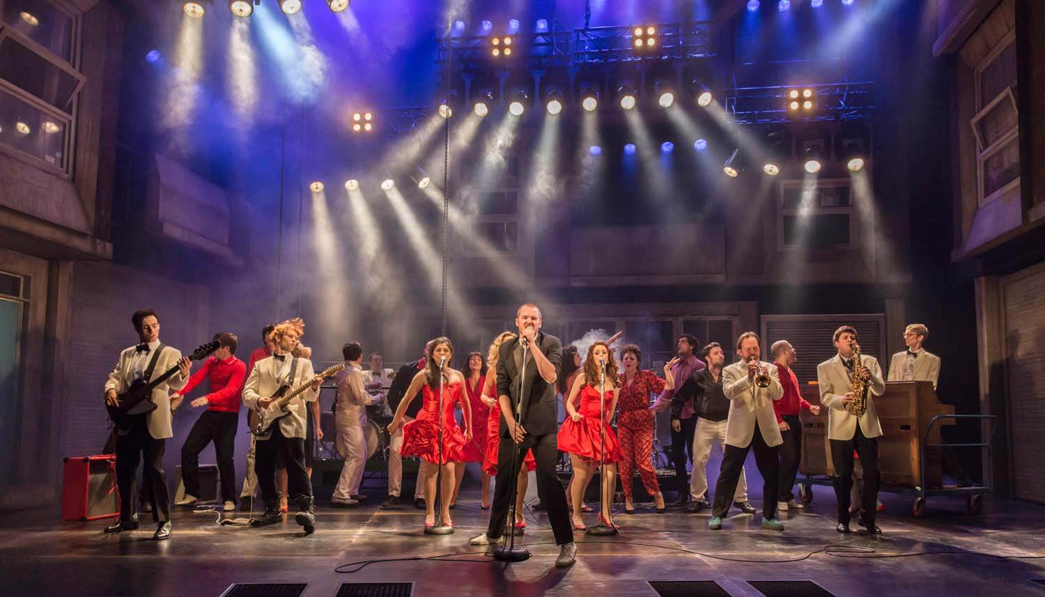 The Commitments, Palace Theatre 2013, Dir. C Jay Ranger, Lighting Jon Clark, Photo (c) Johan Persson