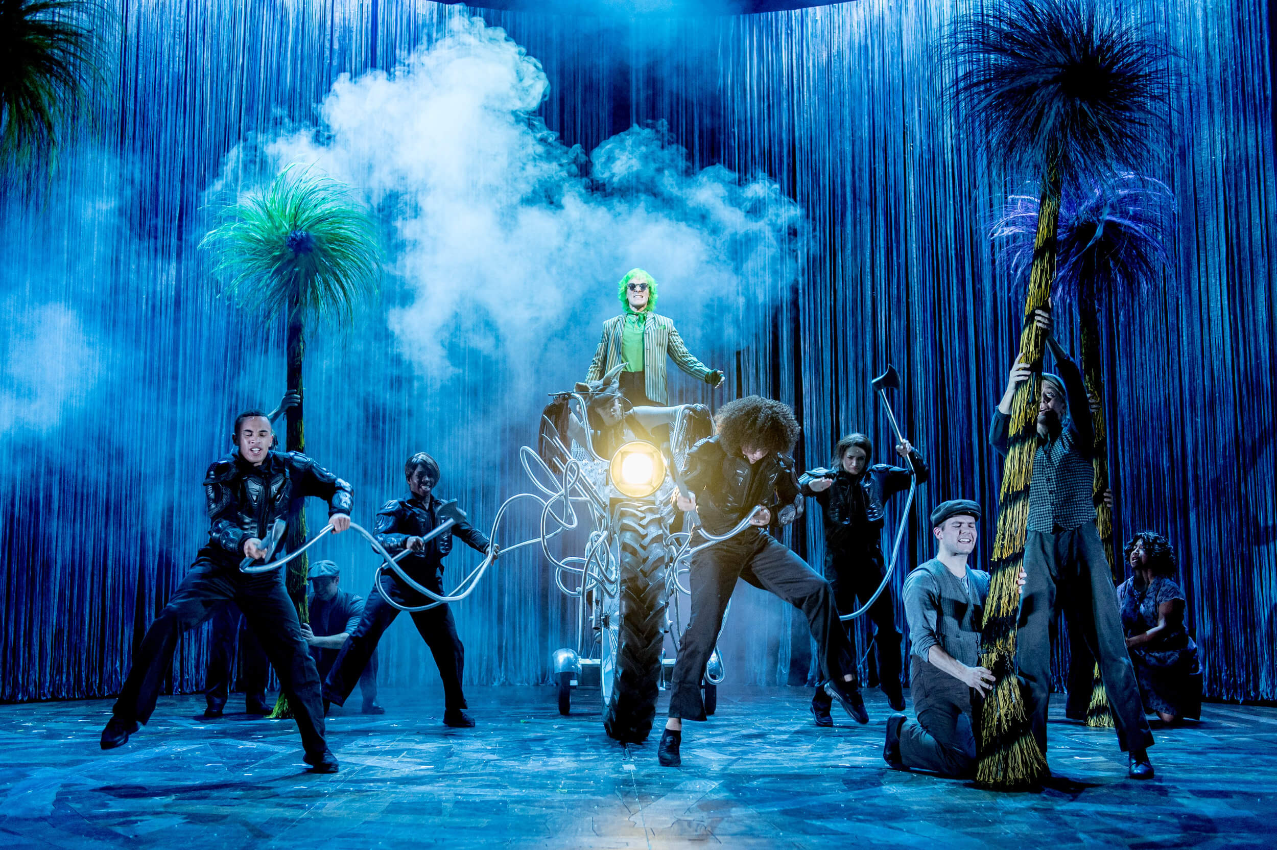 THE LORAX, The Old Vic, Dir. Max Webster, Lighting Jon Clark, Photo (c) Manuel Harlan