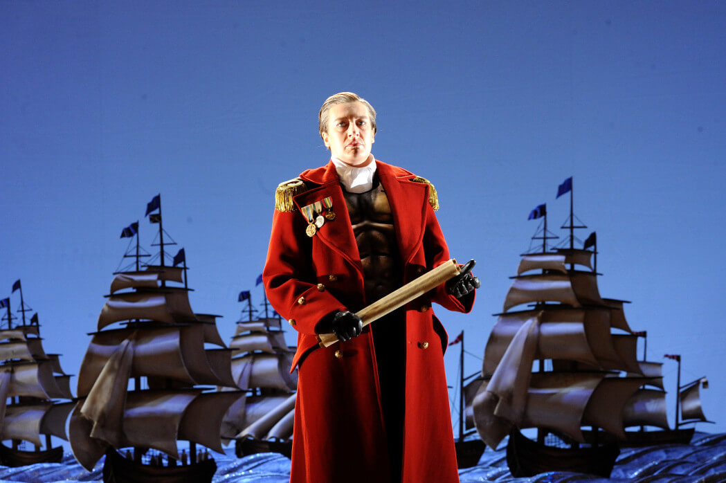 Sarah Connolly In The Title Role Of Giulio Cesare At Glyndebourne, Photo Tristram Kenton
