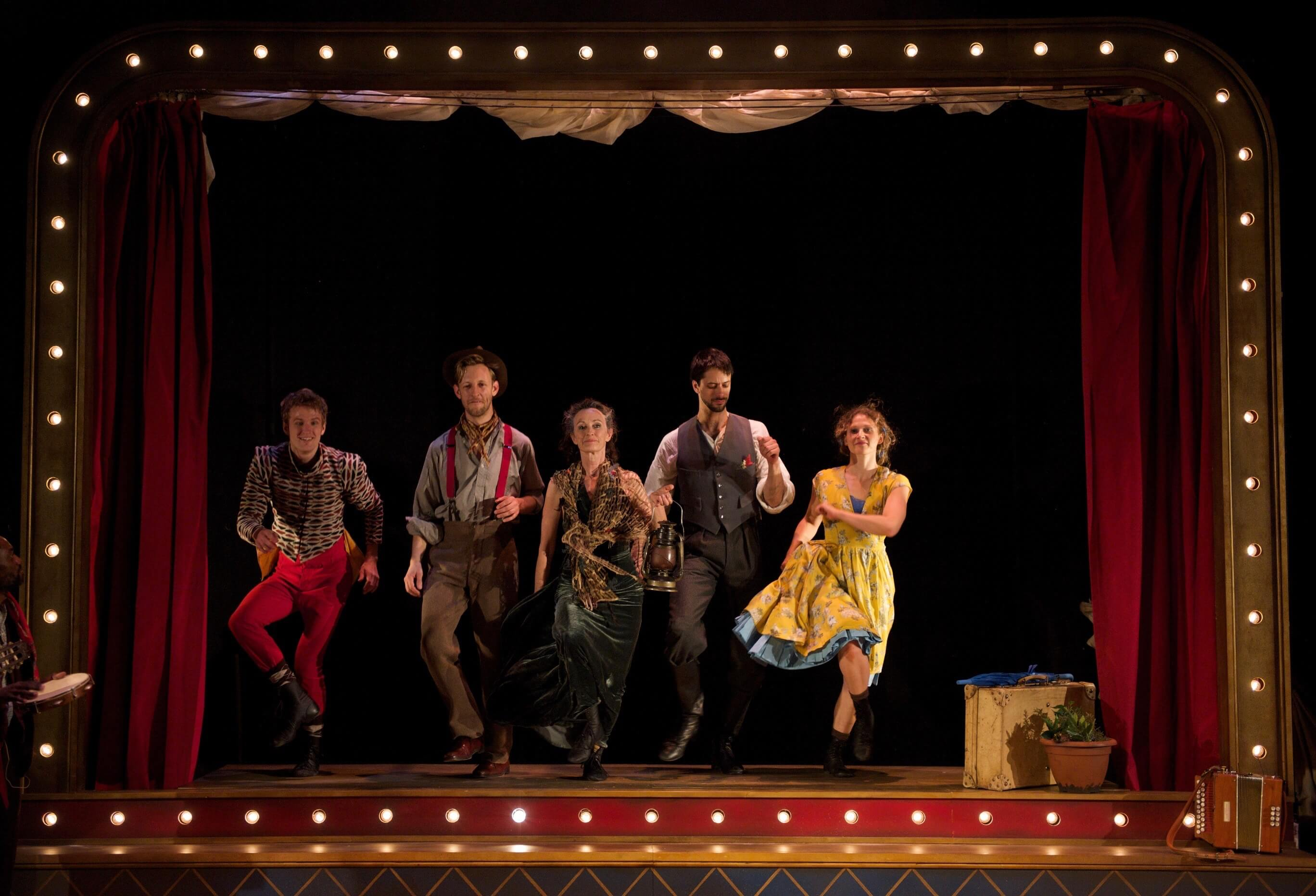 The Ballroom Of Joys And Sorrows, Devised By Kate Flatt, Watford Palace Theatre, Photo By Chris Nash