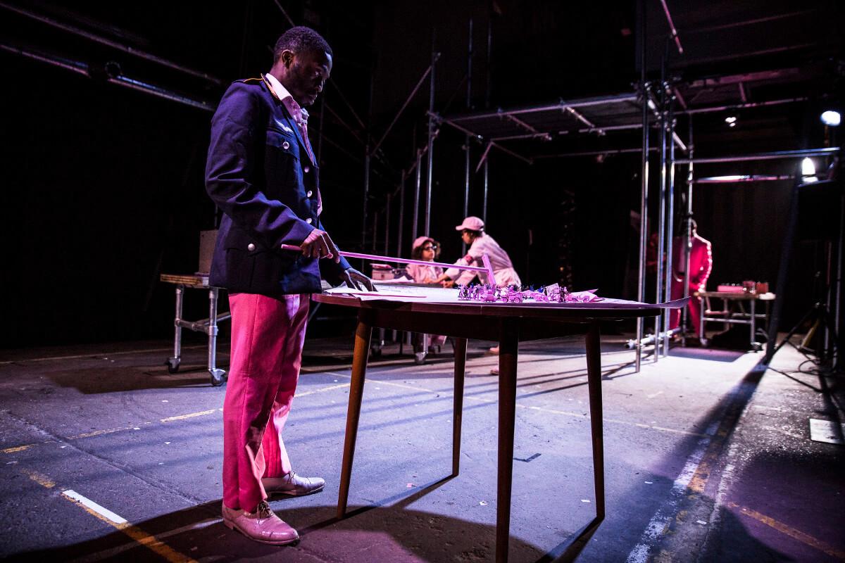 Karagula By Philip Ridley, Site Specific; Soho Theatre @ Styx, Dir. Max Barton, Des.Shawn Soh & Frankie Bradshaw, Lighting Ric Mountjoy, Photo Lara Genovese