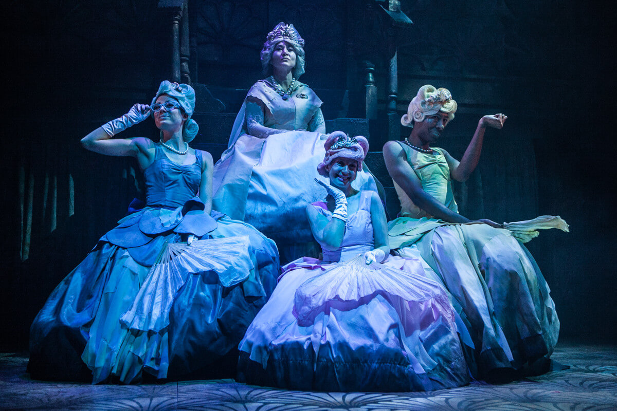 Little Mermaid, Theatre Royal Bath, Dir. Emma Earle & Cameron Carver, Des. Zoe Squire, Lighting Ric Mountjoy, Photo Nick Spratling