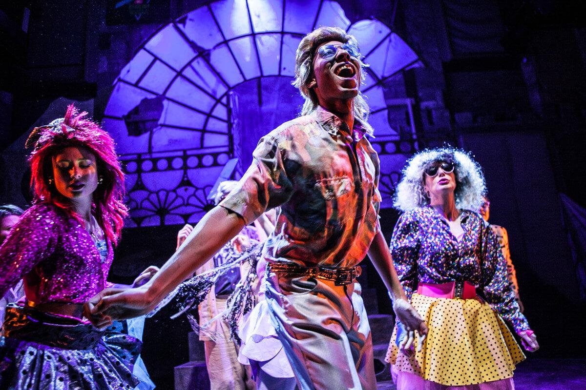 Little Mermaid, Theatre Royal Bath, Dir. Emma Earle & Cameron Carver, Des. Zoe Squire, Lighting Ric Mountjoy, Photo Nick Spratling