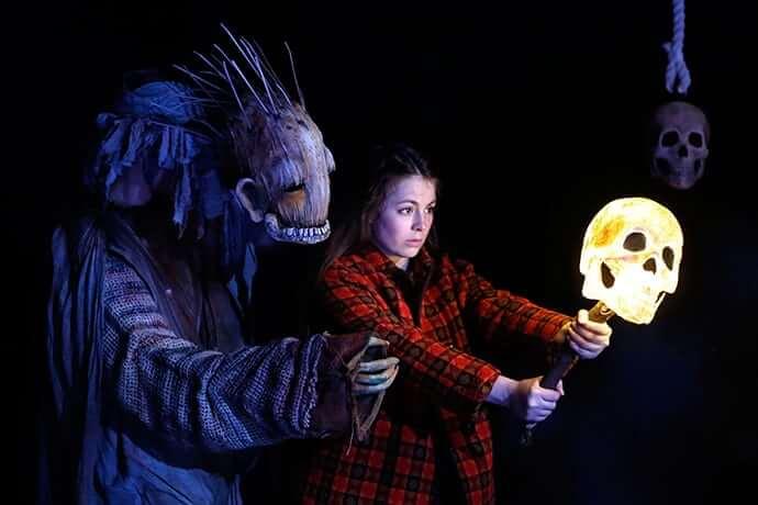 Hag, Edinburgh Fringe, Lighting By Clare O'Donoghue
