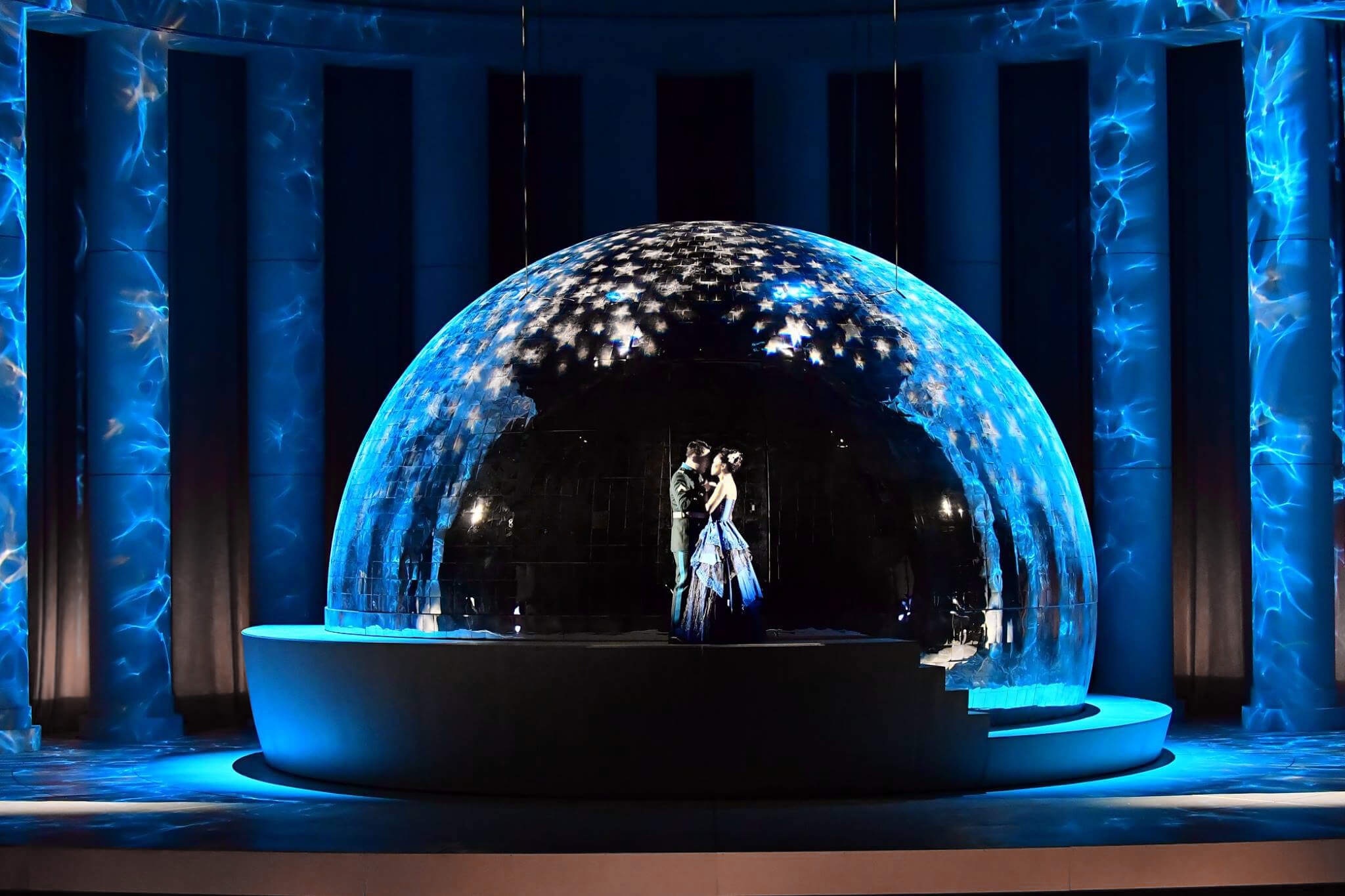 Merry Widow, Korean National Opera, Lighting Davy Cunningham