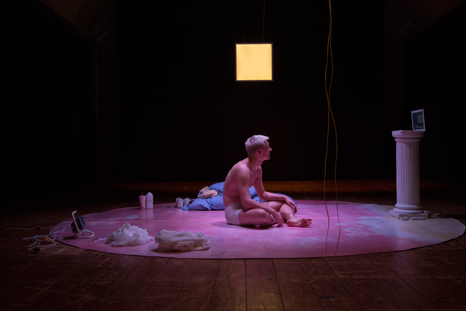 HARD C*CK Lighting Design By Joshua Gadsby, Photo By Cristina Holka