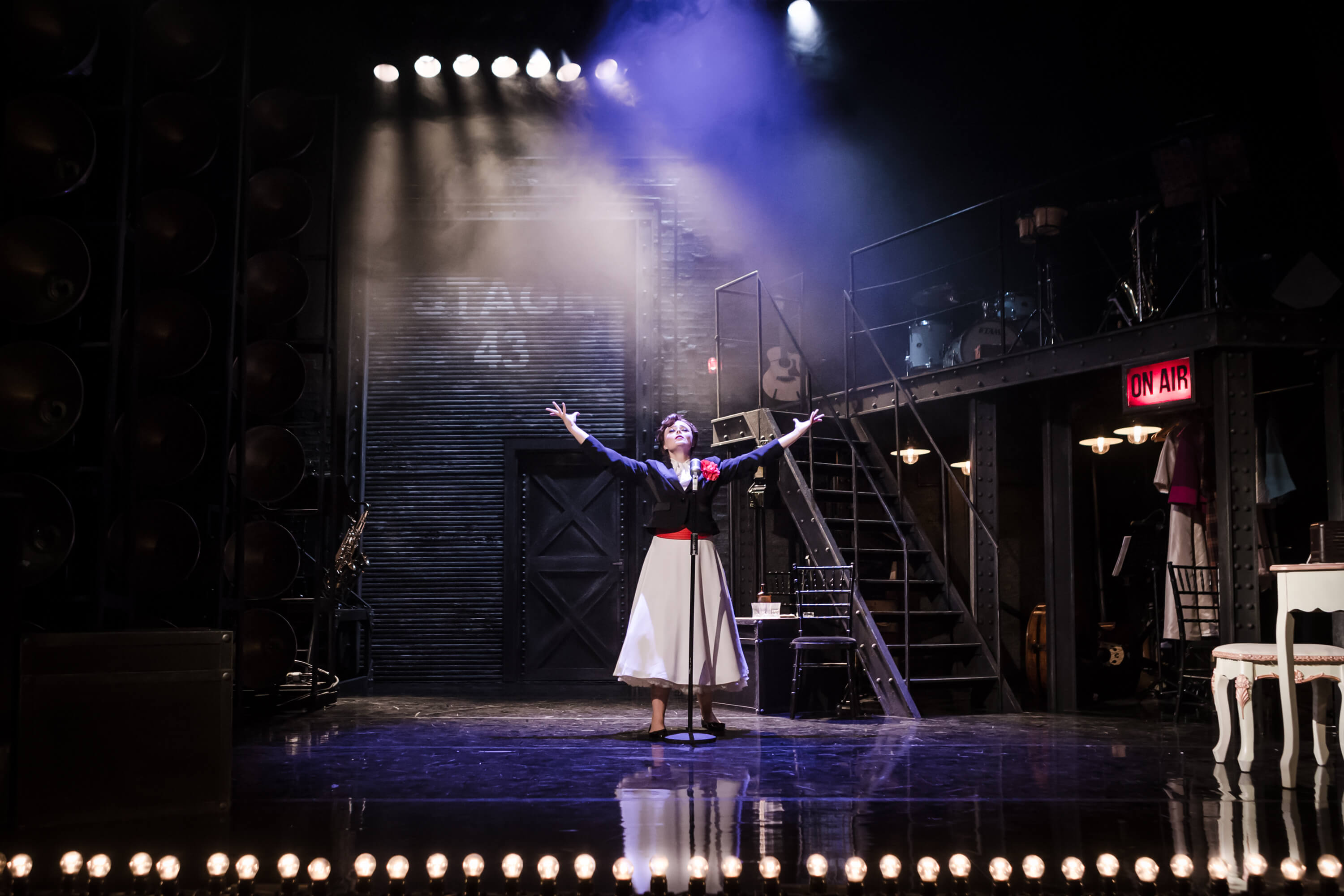 Judy!, Arts Theatre, Director: Ray Rackham, Designer: Tom Paris, Lighting: Jack Weir, 2017